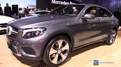 2017 Mercedes-Benz GLC Class Coupe - Exterior and Interior Walkaround - ...