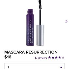 Urban Decay Mascara Resurrection The hardest part about touching up your makeup before a night out? Not being able to reapply your mascara. Until now. The ultimate do-over, Mascara Resurrection brings your mascara back to life so you can keep piling it on. Like a killer lash comb in liquid form, this clear refreshing serum combs through lashes to soften mascara and get your lashes ready for another coat. And the curved fiber brush really grabs onto lashes and separates them. There's NOTHING…