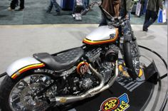 There's a little sporty and a whole lot of street in this 2006 Harley-Davidson Softail. | Long Beach IMS Ultimate Bike Builder, 2nd Place MOD Harley Class: K&N