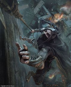 Infected By Art » Art Gallery » Arman Akopian » Thief - PC Gamer cover in Published and personal artworks