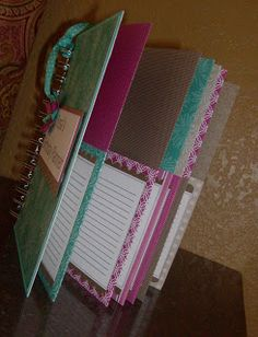 Paper Cuts-birthday planner