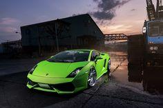 Dân chơi Nhật độ Lamborghini Gallardo thành Huracan