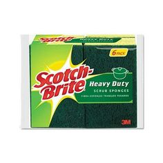 I'm learning all about Scotch-brite Heavy-Duty Scrub Sponge at @Influenster!