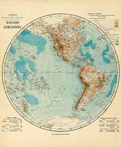 Western Hemisphere 1883