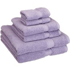 Stack these Egyptian cotton towels on the guest vanity to help out-of-towners feel at home, or wrap them up as a gift for the newlyweds in your life.