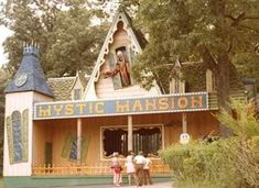 Haunted Attractions, Wax Museum, Cabin, Entertaining, House Styles, Classic, Cabins, Cottage, Classical Music