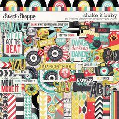 Shake It Baby by Jady Day Studio & Shawna Clingerman - FF0403