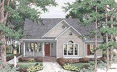 Plan W6293V: Traditional, Country, Cottage House Plans & Home Designs by judy