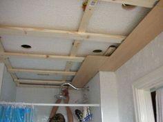 como instalar forro de pvc banheiro com madeira