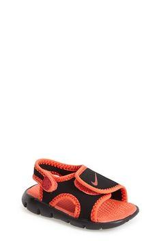 Nike 'Sunray Adjust 4' Sandal (Baby, Walker & Toddler) available at #Nordstrom