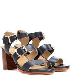 A.P.C. Betsy Leather Sandals. #a.p.c. #shoes #sandals