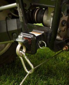 atv accessories Rear Link for Reversaroller allows you to winch backward with a front mounted winch using a Reversaroller bracket Big Trucks, Pickup Trucks, Rzr Accessories, 4 Wheeler Accessories, Atv Winch, Polaris Ranger, Polaris Rzr, Honda Pioneer 1000, Atv Trailers