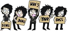 Andy, Ashley, CC, Jake, and Jinxx