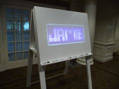 Sign-in board Light-box. Create your own and Impress you Guests. Remember your party and friends for years to come!