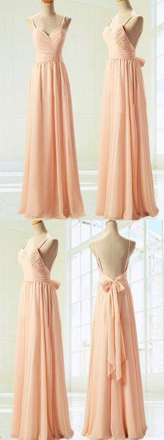 long bridesmaid dresses,backless bridesmaid dresses,chiffon bridesmaid dresses,wedding party dresses @simpledress2480