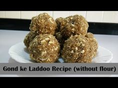 Gond ke Laddoo Recipe in Hindi By Cooking with Smita (without flour, Milk, Mawa) | Winter Special - YouTube