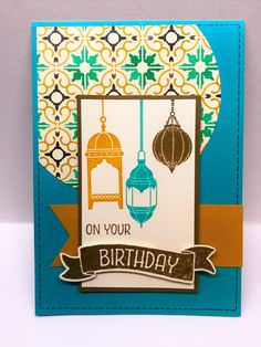 The Crafty Crafter: Mojo Monday Moroccan Nights