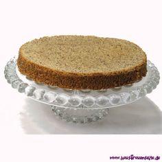 Tortenboden aus Mandeln oder Nüssen