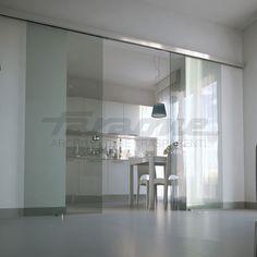 Schiebe-Tür / Glas / Innenbereich / Doppel VELO FARAONE Srl