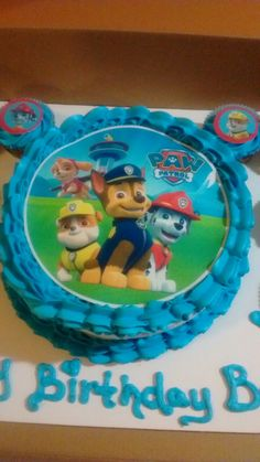 Paw patrol sugar sheet from party city