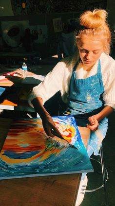 See more of fatmoodz's content on VSCO. Art Hoe Aesthetic, Summer Aesthetic, Painting Inspiration, Art Inspo, Wow Art, Make Art, Painting & Drawing, Painting Wallpaper, Art Girl