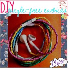 DIY Tangle-Free Earbuds - Polyvore