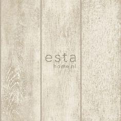 137747 papier peint intissé Haute Définition planches de bois beige