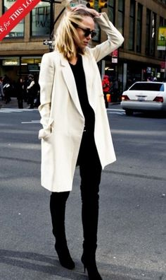 {Must See Looks} Fall Coat Fashion Crush Looks Style, Style Me, Working Girl, Winter Outfits, Casual Outfits, Moda Formal, Belle Silhouette, Mode Mantel, Look Blazer