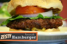 hamburger patty recipe | How to make the perfect patty | TodaysCreativeBlog.net