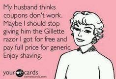 Free Gillette or Full Price Generic? Hmmmm
