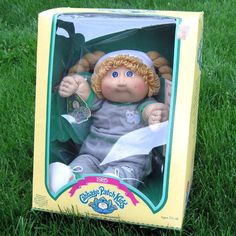 Cabbage Patch Doll--Awww brings back so many memories!! My mom ordered my and my Sister's doll from Montgomery Ward.. You could only specify the gender... Eileen Essa & Chrissy Marla