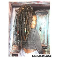 Almost 13 weeks in. #Mermaidlocs. Human hair is used. Locs were individually hand wrapped. Mermaid locs are different from boho or goddess locs because there are a few Braids, cornrows, & twists in the mix as well as some loose strands of hair. Now booking this style. Please note that slots are limited but we do have a waitlist. Use the email link in our bio or more info☺️ ~~~~~~~~~~~~~~~~~~~~~~~~~~~~~~~~~~~~~~~~~~~~ Please keep in mind that THERE IS A DIFFERENCE BETWEEN HUMAN HAIR AND…