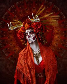 Autumn Photographer Tim Tadder (previously) has created Las Muertas, a beautiful photographic tribute to La Dia De Los Muertos, the traditional Mexican hol