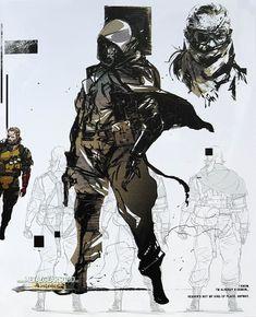 Des images de l'artbook du collector japonais de Metal Gear Solid V : The Phantom Pain