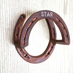 Bridle holder use for rope or reins in barn by BlacksmithCreations horse tack Horseshoe Projects, Horseshoe Crafts, Horseshoe Art, Horse Tack Rooms, Horse Crafts, Dream Barn, Horse Stalls, Barn Plans, Horse Farms