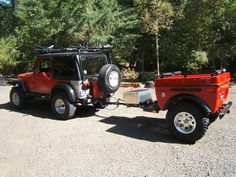 Jeep Wrangler Off Road Camper Trailers and Jeep 4x4 Campers by Tentrax