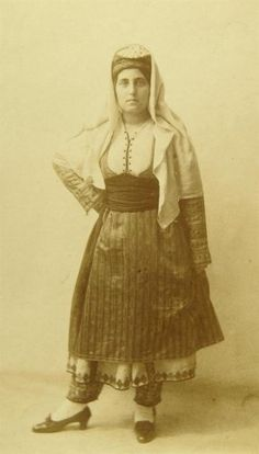 Folk, Greek, Costumes, Traditional, Collection, Dresses, Women, Art, Fashion