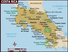 This should help you get your bearings. #costarica