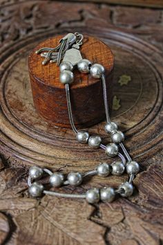 Silver Greek Worry beads by TheBabyDragon on Etsy, €59.00