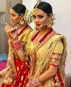[SNEAK PEEK] Naagin Anita Hassanandanis bridal look will make you wonder whom is she getting married to? Royal Indian Wedding, Indian Bridal, Party Wear Lehenga, Bridal Lehenga, Bridal Looks, Bridal Style, Tashan E Ishq, Indian Goddess, Desi Bride