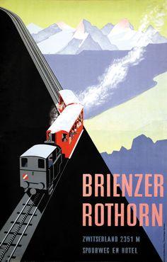 Brienzer Rothorn, Switzerland - Emil Schulthess