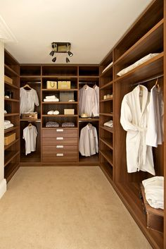 Slideglide - walk in wardrobe design specialists offers also a wide range of accessories to assist in keeping everything organised and tidy. Walk In Closet Design, Bedroom Closet Design, Bedroom Wardrobe, Wardrobe Design, Closet Designs, Dressing Room Closet, Dressing Room Design, Walking Closet, Casa Patio