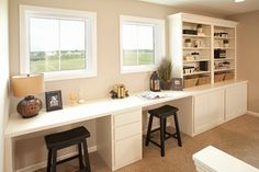 Home Study Work Bench Design Ideas, Pictures, Remodel, and Decor - page 2