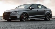 Hot Audi S3 sedan