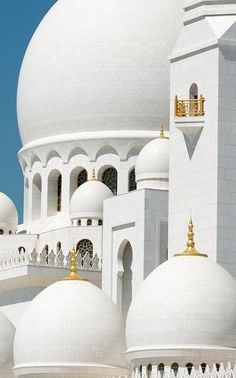 Белая мечеть шейха Заида в Абу-Даби 2