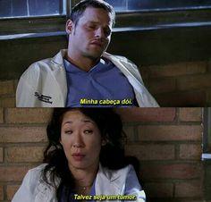 Cristina Yang, Torres Grey's Anatomy, Kate Walsh, Looking For Alaska, Best Tv Shows, Movie Quotes, Medicine, Humor, Georgia