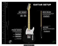 Get a better understanding of your guitar setup. | 9 Amazing Infographics For Guitar Freaks