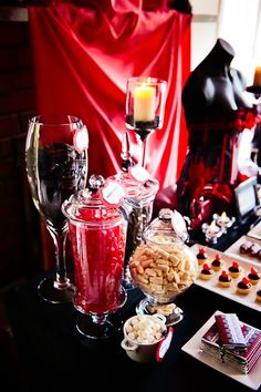 Burlesque decorations and treats