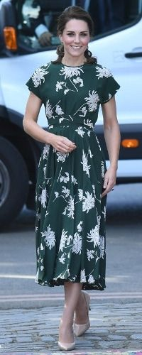 22 May 2017 - Duchess of Cambridge previews Chelsea Flower Show