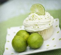 Martha's Key Lime Cupcakes With Buttercream Frosting
